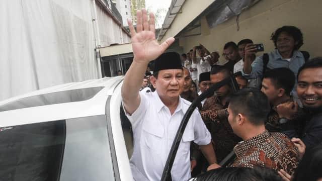 Prabowo Soal Ongkos Politik: Lebih Baik Saya Utang Budi ke Rakyat