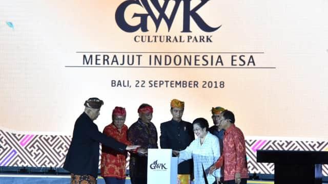 Presiden Jokowi: Patung GWK Bisa Menjadi Tapak Sejarah Indonesia