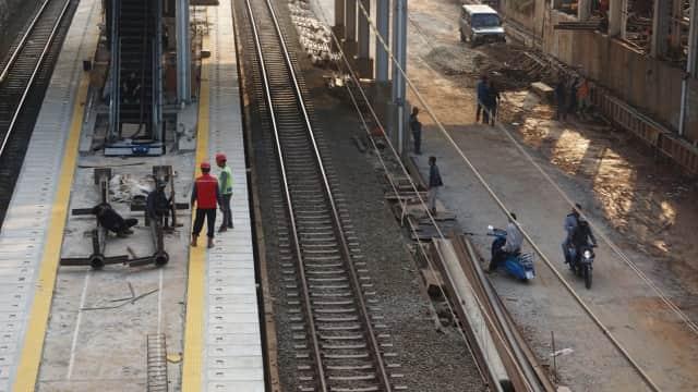 Pembangunan Jalur KA Rp 890 M Dibiayai dari Pinjaman dan Hibah Asing