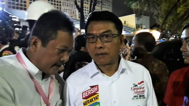 Moeldoko soal Jokowi-Ma'ruf Nomor Urut 1: Bagus Dong, Sekali Lagi
