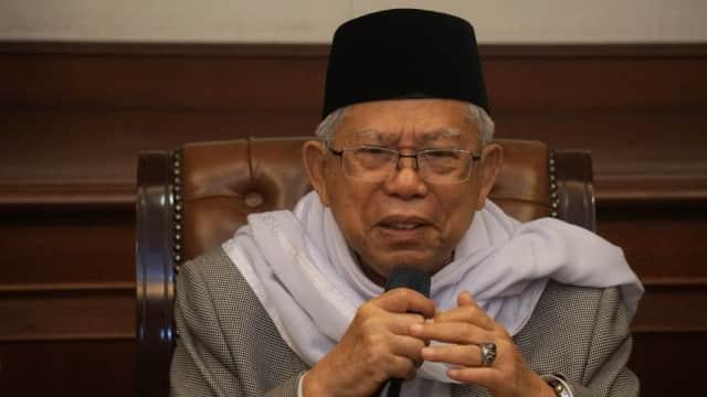 Ma'ruf Amin Ingin Siswa Afghanistan Belajar Islam dari Indonesia