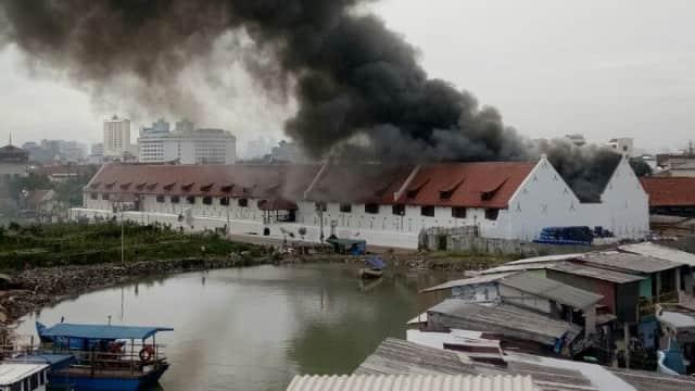 138 Barang di Museum Bahari Rusak Akibat Kebakaran