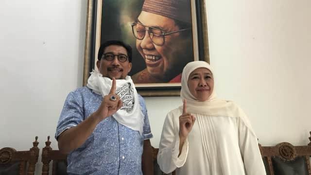 Tim Kampanye Jatim Bagi Tugas dengan Khofifah Menangkan Jokowi-Ma'ruf