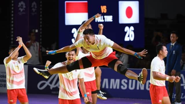 Asian Games 2018: Tim Kabaddi Putra Indonesia Raih Kemenangan Kedua