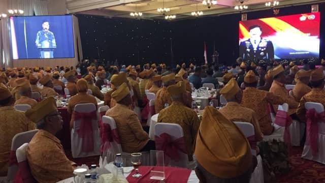 Panglima TNI Hadiri Silaturahmi dengan Veteran dan Wartawan Perang