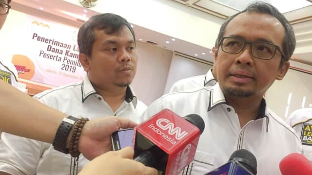 PKS Parpol Pertama Laporkan Dana Kampanye, Total Penerimaan Rp 17 M