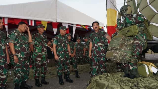 Panglima TNI: Teknologi dan Alutsista Milik TNI Semakin Maju