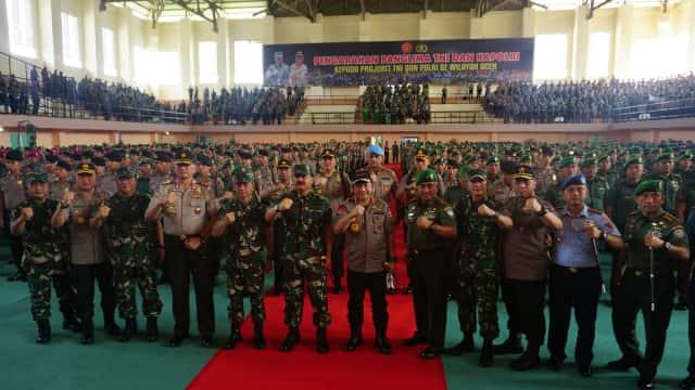 Panglima TNI dan Kapolri Sambangi Aceh, Pastikan Pilkada Aman