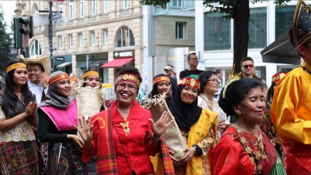 Berbagai Budaya Indonesia Semarakkan Kota Frankfurt