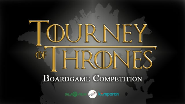 TOURNEY OF THRONES: Boardgames Competition