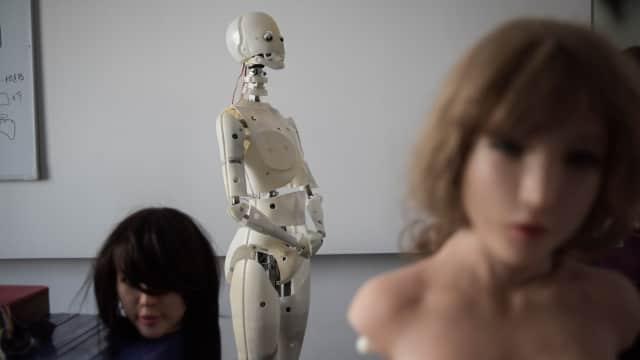 Saking Cintanya, Seorang Pria Ajak Robot Seks Jalan-jalan