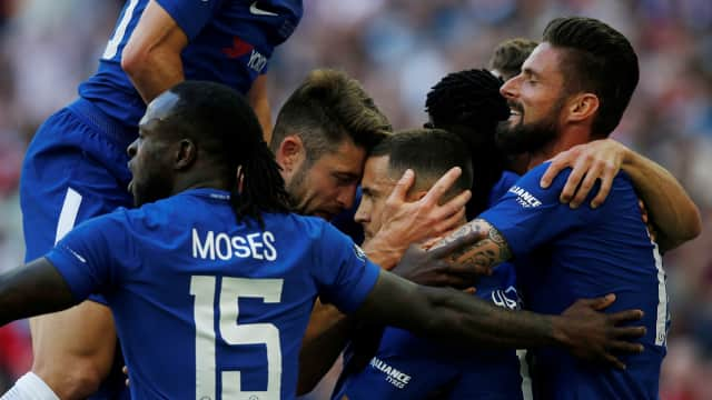 Taklukkan Manchester United, Chelsea Juara Piala FA