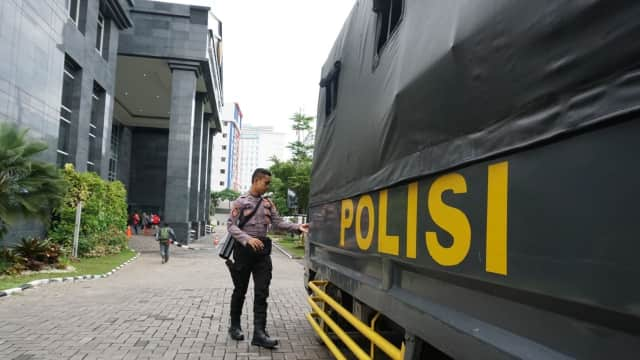 Polisi Fokus Amankan Pengunjung Sidang Setya Novanto