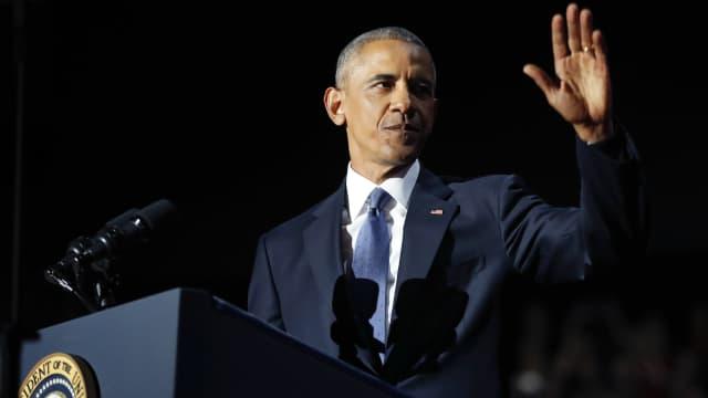 Photo Story: Pesan Perpisahan Obama
