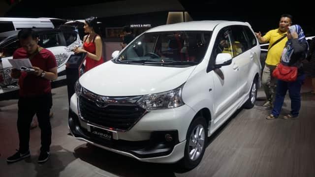 Begini Tampang Toyota Avanza Limited Edition