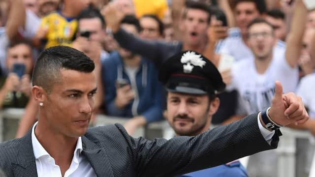 Cristiano Ronaldo Tiba di Markas Juventus