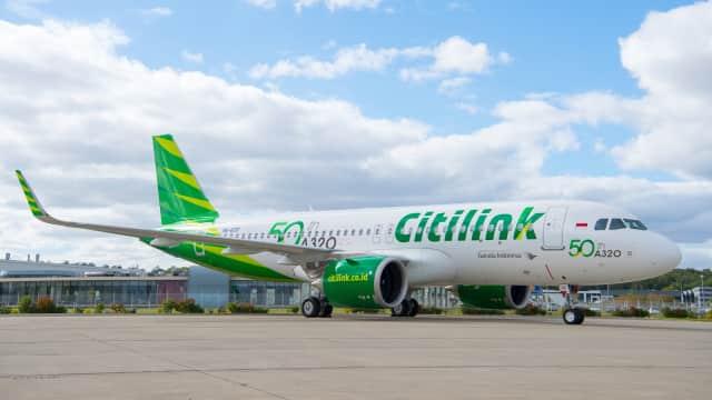 Pilot Citilink Dilarang Terbang karena di Bawah Pengaruh Obat
