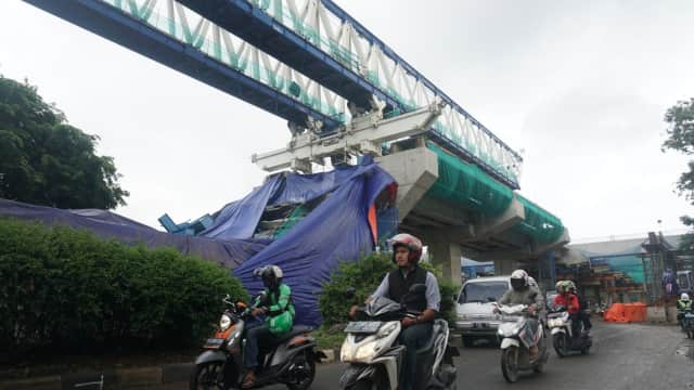 4 Kecelakaan Proyek LRT dan MRT
