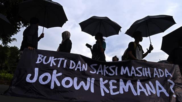 Jokowi Terima Peserta Aksi Kamisan di Istana, Kamis 31 Mei