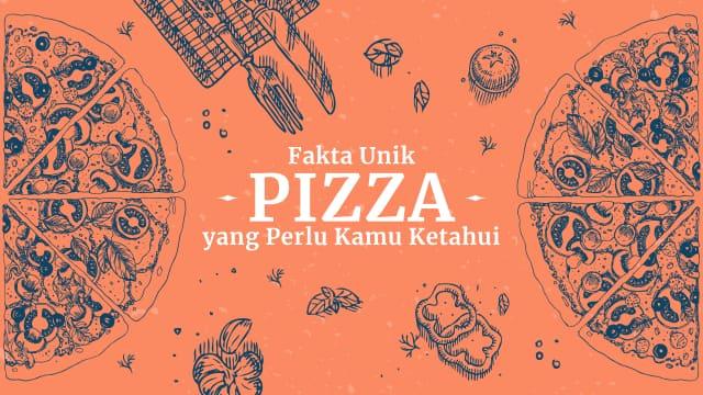 Infografik: Fakta Unik Pizza yang Perlu Kamu Ketahui