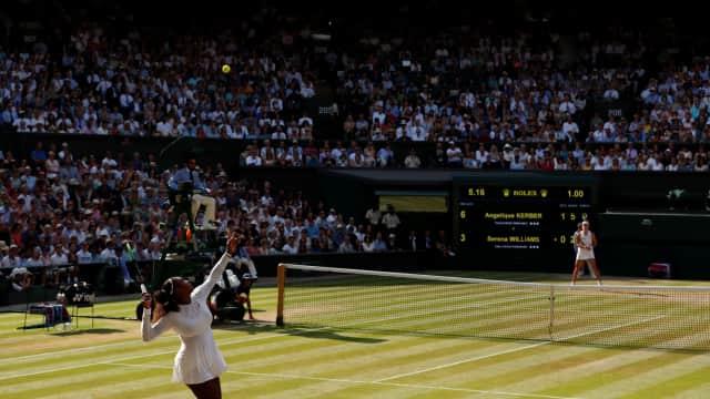 Perjalanan Serena Dimulai dari Kekalahan di Wimbledon 2018