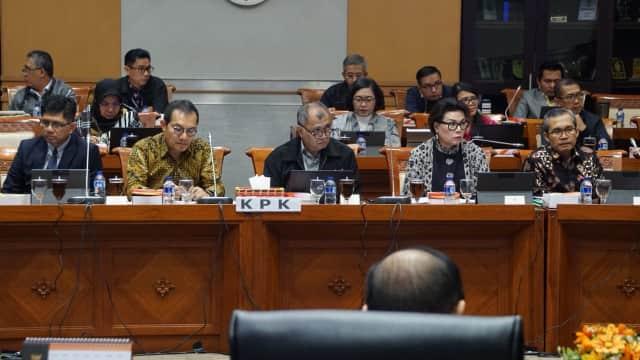Rapat dengan DPR, KPK Ungkap 4 Korupsi yang Sering Terjadi