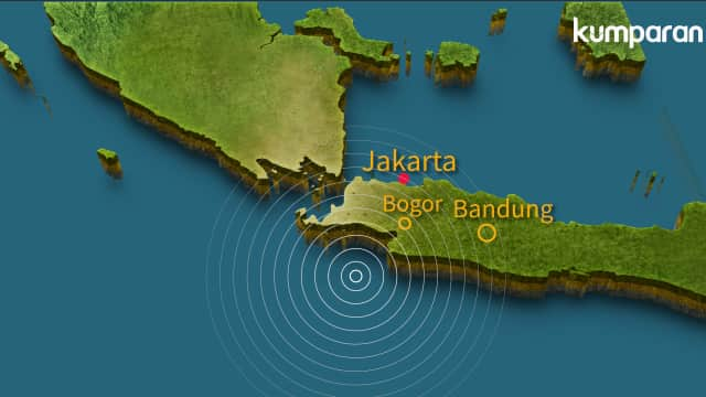 Gempa 4,1 Magnitudo Guncang Lebak, Banten