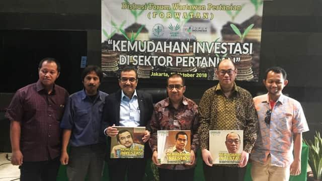 Urus Izin Investasi Pertanian di Kementan Cukup Upload Dokumen