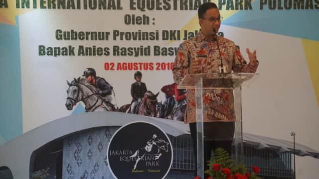 Anies Satukan Visi Misi BUMD di DKI Agar Tak Jalan Sendiri