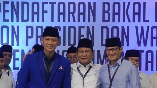 Sebelum Djoko Santoso Terpilih, AHY Ditawari Jadi Ketua Timses Prabowo