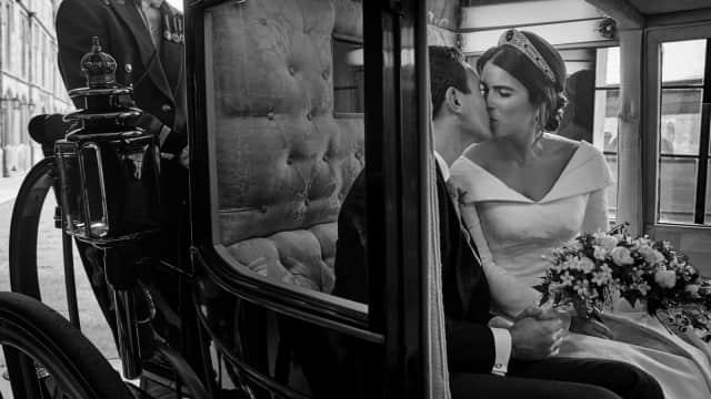 Potret Intim Foto Ciuman Putri Eugenie di Hari Pernikahannya