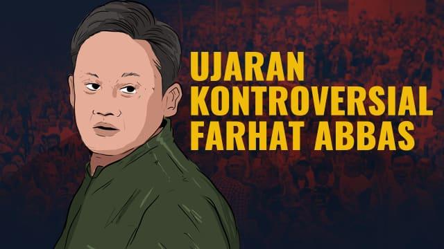 Infografik: Ujaran Kontroversial Farhat Abbas