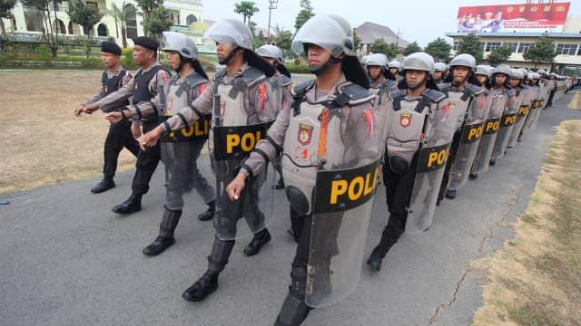 Jelang Pengundian Nomor Urut Pilpres, 3.886 Polisi dan TNI Jaga KPU