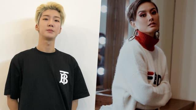 Seung Hoon Winner Menari Diiringi Lagu Agnez Mo