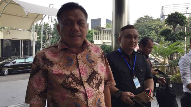 Gubernur Sulut Olly Dondokambey dan Aziz Syamsuddin Diperiksa KPK