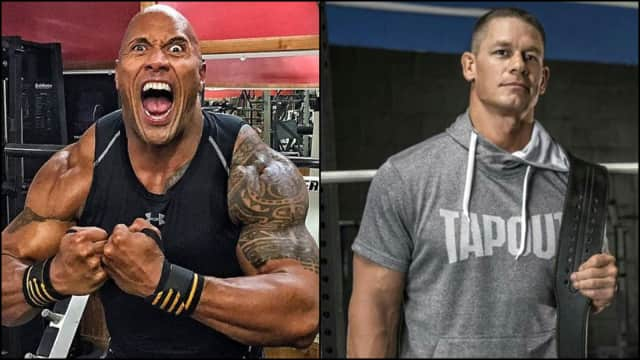 John Cena vs The Rock, Siapa 'Pegulat WWE Jadi Artis' Favoritmu?