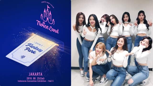 Twice Siap Gelar Konser 'Twiceland Zone 2' di Indonesia