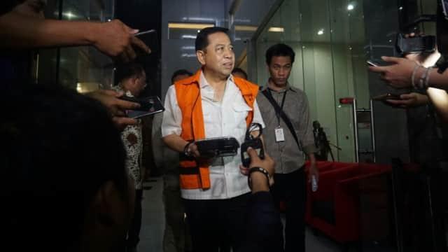 Setya Novanto Bantah Semua Ketua Fraksi Terima Uang e-KTP
