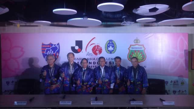 'J-League Asian Challenge': Duel Bhayangkara FC dan FC Tokyo di GBK