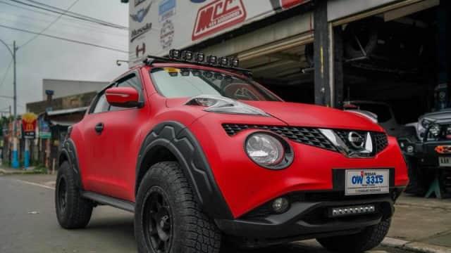 Referensi Modifikasi Nissan Juke untuk Main Tanah