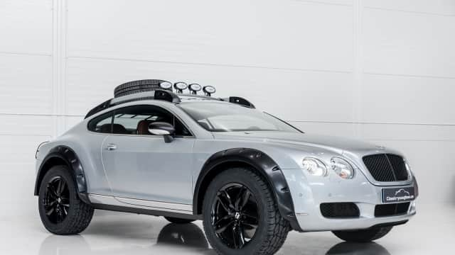 Bentley Continental GT Garuk Tanah, Kenapa Enggak?