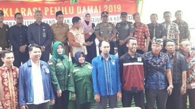 Kota Banjarmasin Deklarasi Pemilu Damai 2019