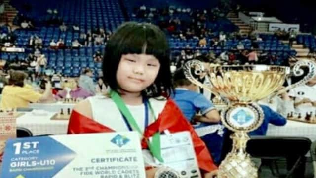 Samantha, Juara Dunia Catur U-10, Harus Dapat Perhatian Khusus