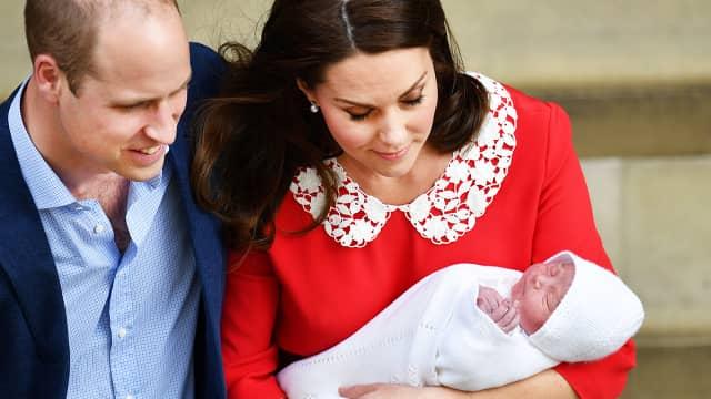 Pangeran William dan Kate Middleton Masih Rahasiakan Nama Anak Ketiga