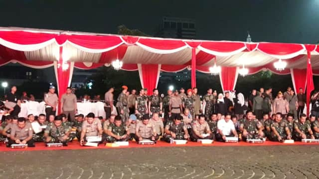 Tito, Hadi, hingga Anies Hadiri Syukuran Pengamanan Asian Games