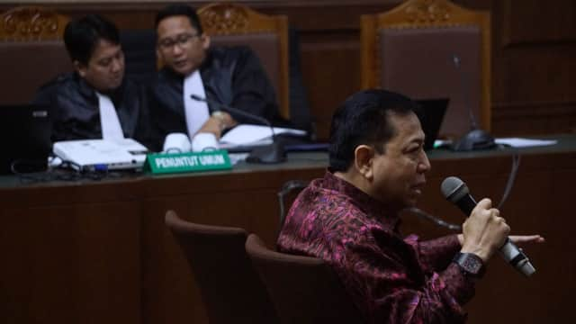 Setya Novanto Batal Bersaksi di Sidang Fredrich Yunadi