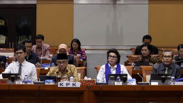 Komisi III DPR Sebut Rapat dengan KPK Lebih Panas karena Kurang Lobi