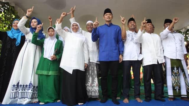 Jelang Debat Ketiga Pilgub, Khofifah-Emil Fokus Kampanye Terakhir