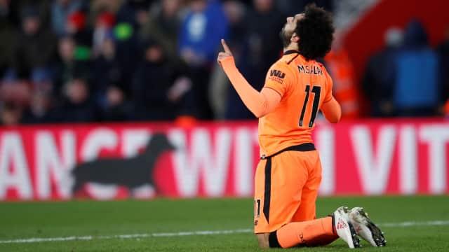 Hasrat Salah Cetak Lebih Banyak Gol untuk Liverpool