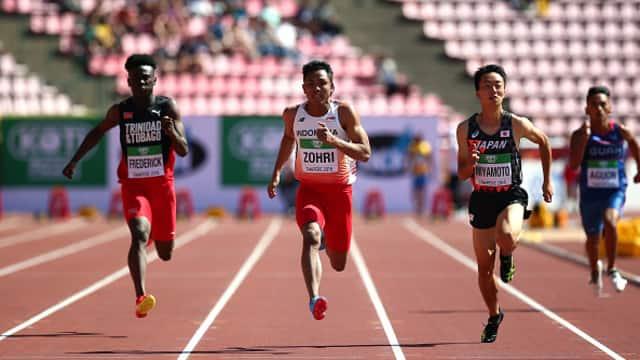 Menpora Berharap Lalu Zohri Tetap Berlari di Olimpiade 2020